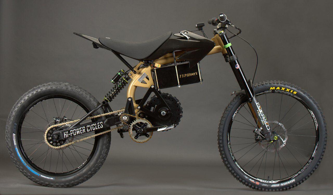 2020 HPC Typhoon Pro Offroad High Performance Electric