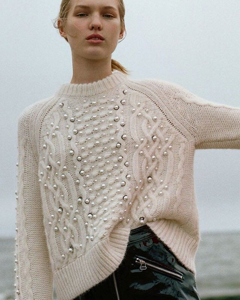 Rag & Bone knit. | CABLES | Pinterest | Knitwear, Knit crochet and