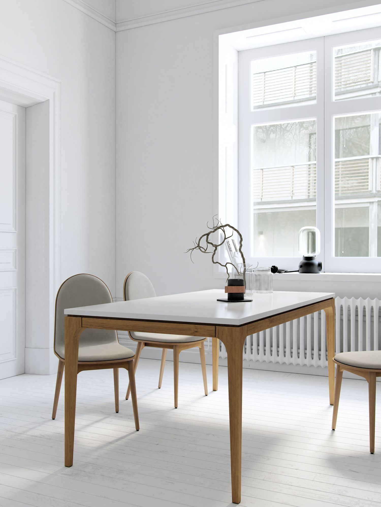 Lars Dining Table Rove Concepts Rove Concepts Mid Century