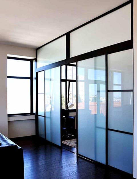 Modern Glass Room Dividers For Interiors Glass Room Divider Home House Rooms