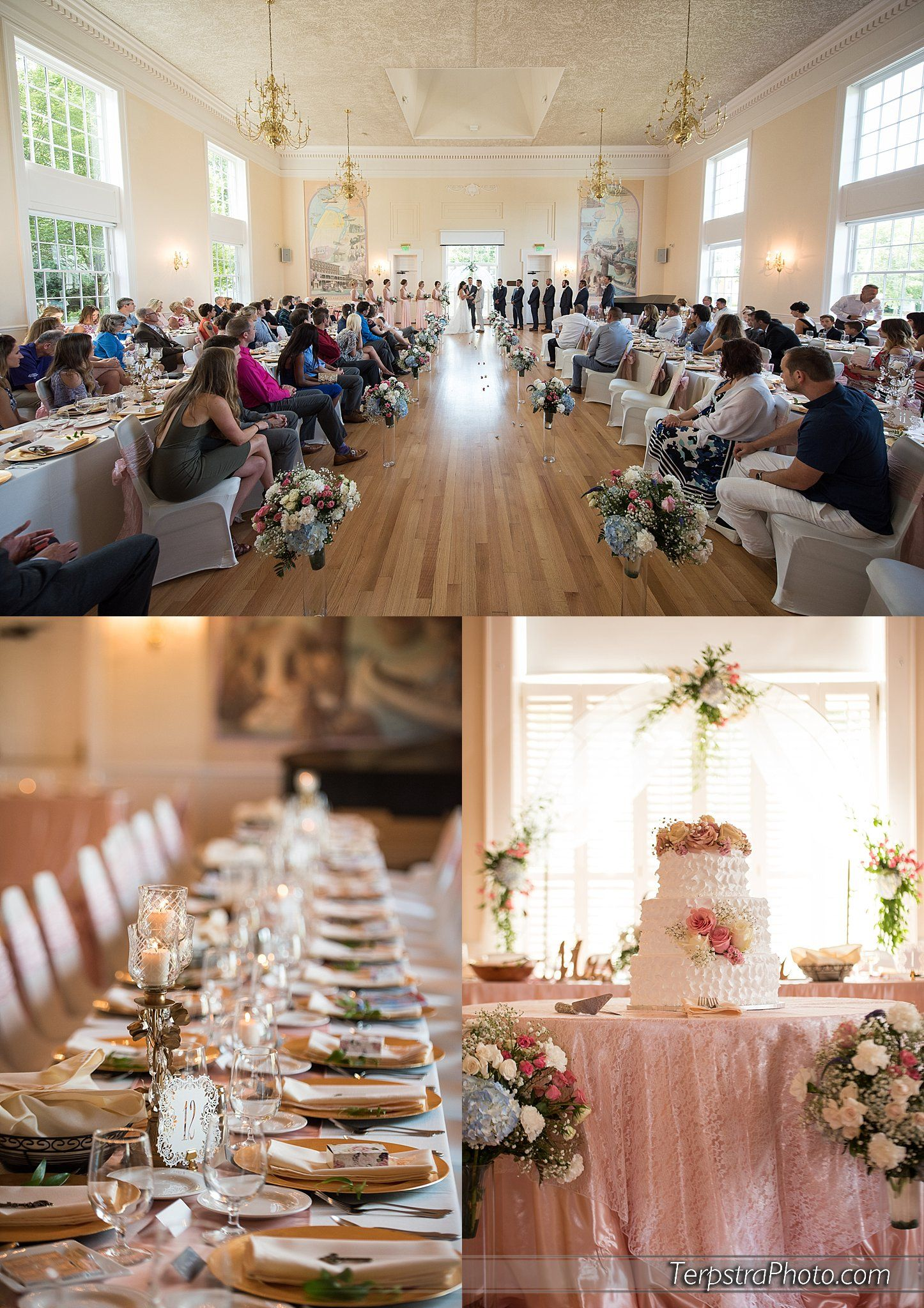 The Heritage Center In Saint Joseph Michigan Is Not Only A Great Spot For Receptions But They Also Do Some Of Best Indoor Wedding Ceremonies St Joe