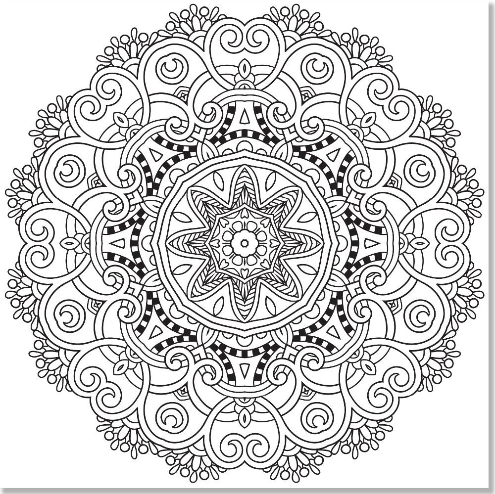 Mandala 729 - mandala coloring book for adults - Google Search ...
