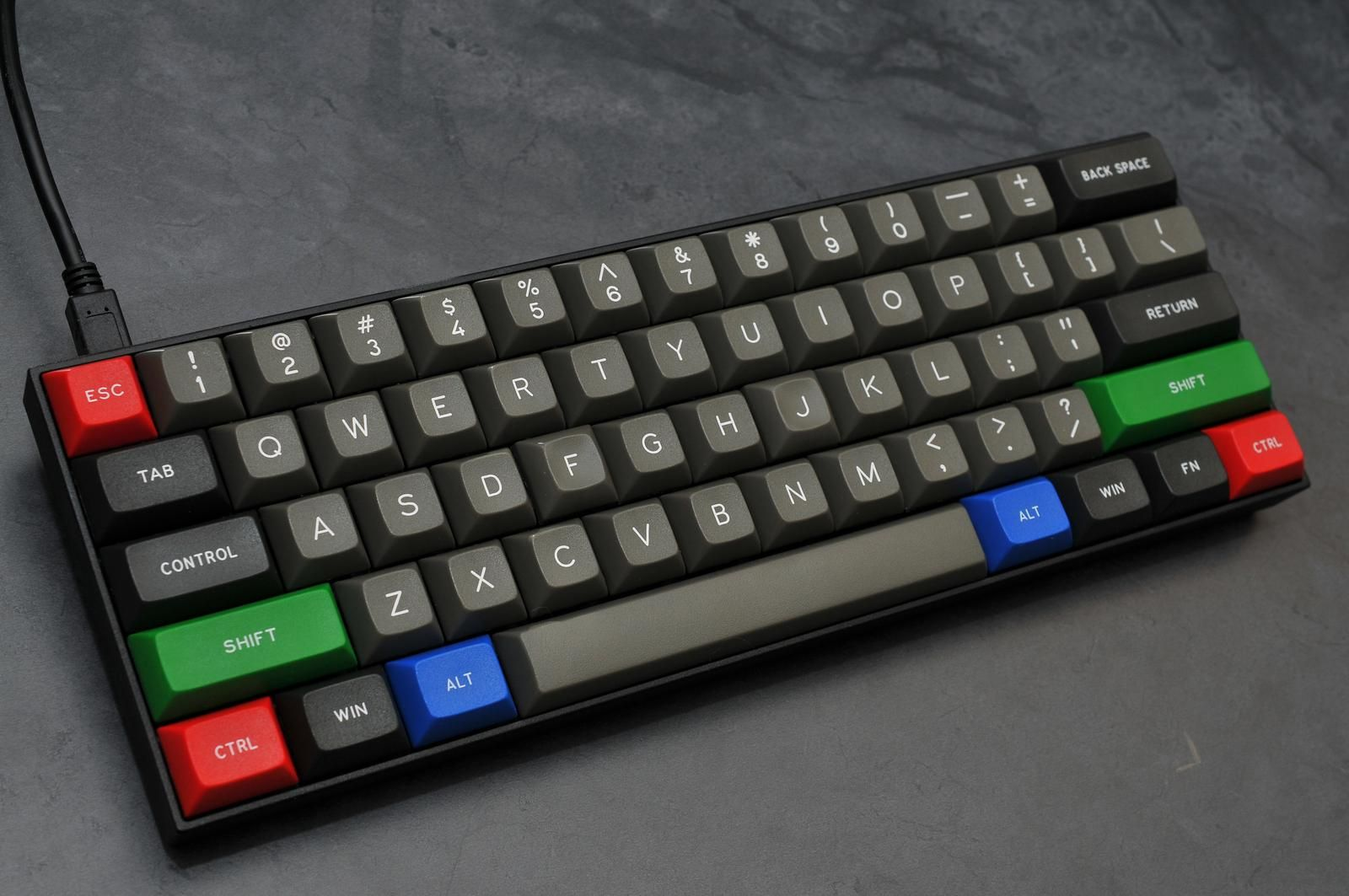 a1b8d44ced5 DSA Dolch with RGB mods, Signature Plastics -made keycaps. http://