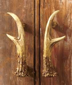 Beau Deer Antler Handles For Kitchen Cabinets.