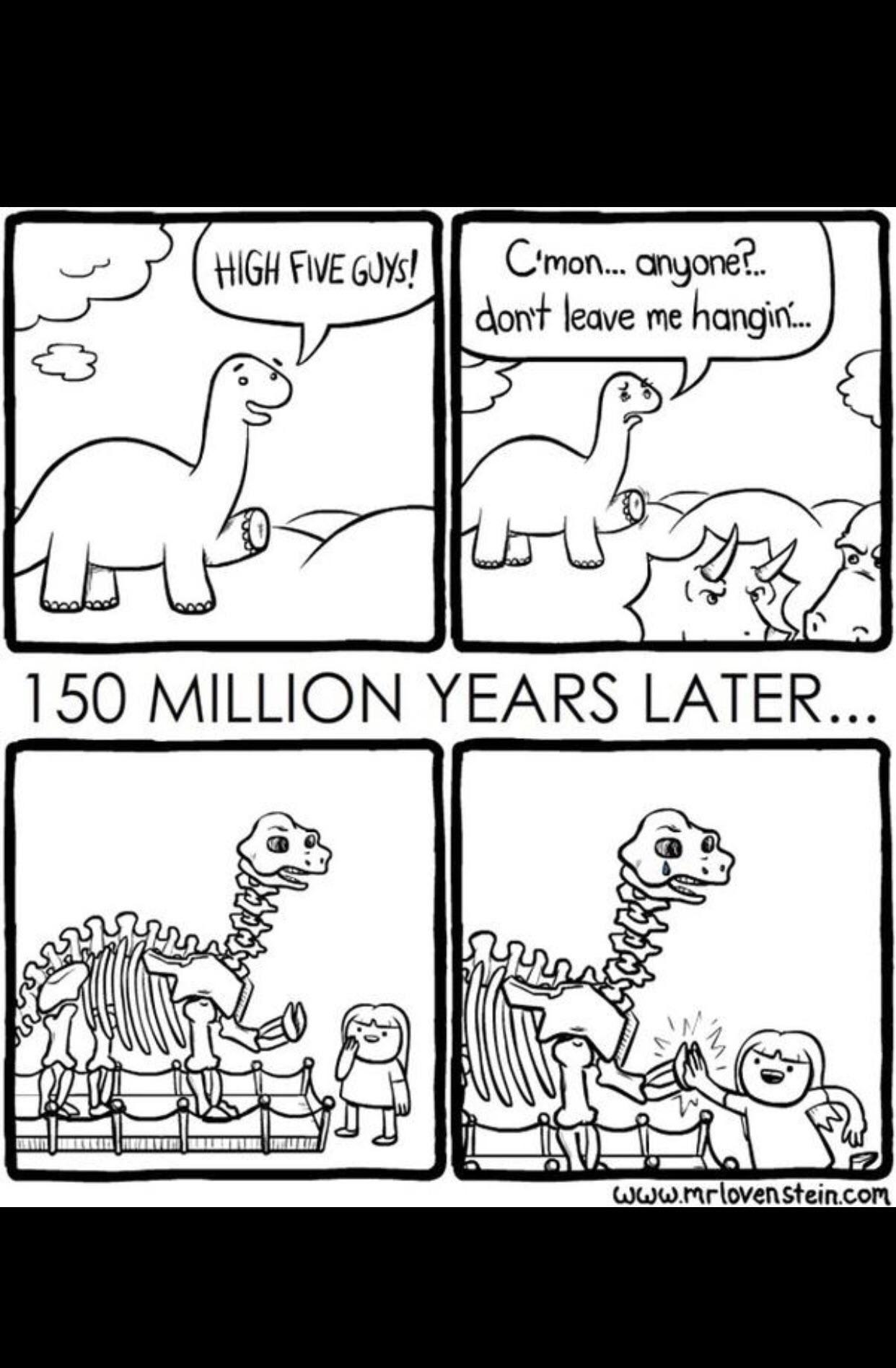 Even Dinosaurs Need High Hives Dark Humor Comics Funny Comic Strips Funny Comics