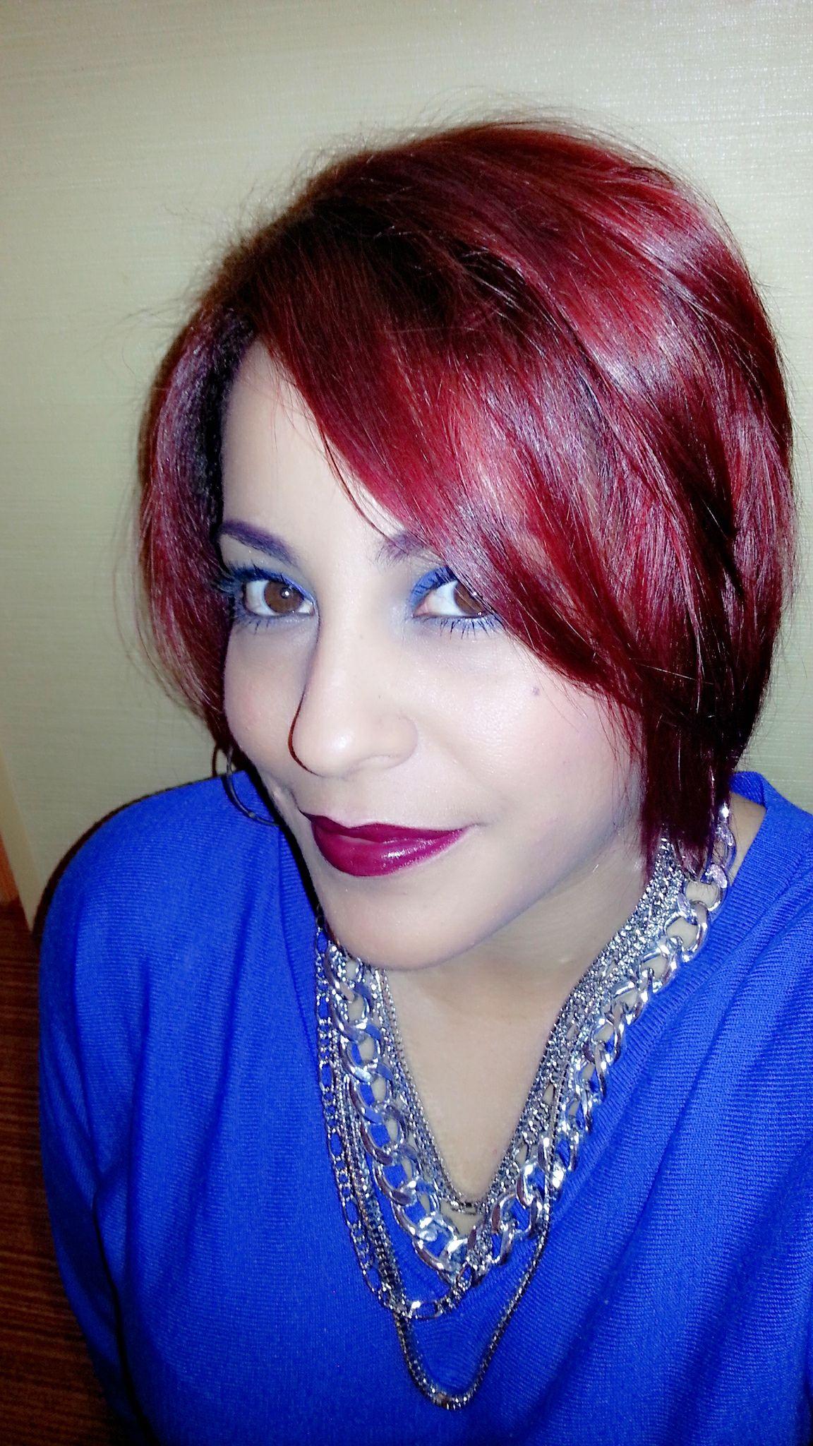 Red hair blue eye makeup cosas que me encantan del cabello y de la
