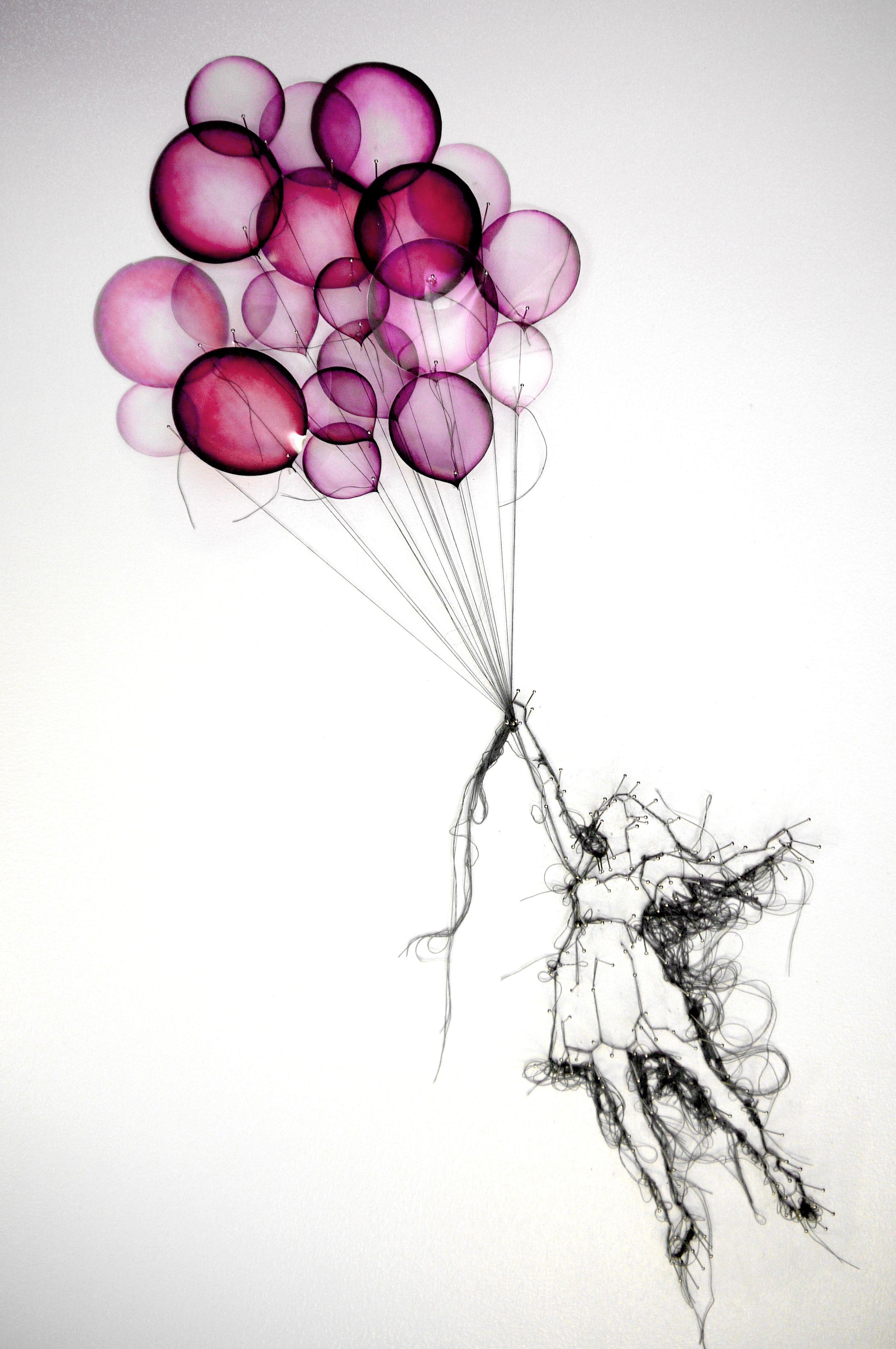 Http debbie smyth com mixed media balloon girl