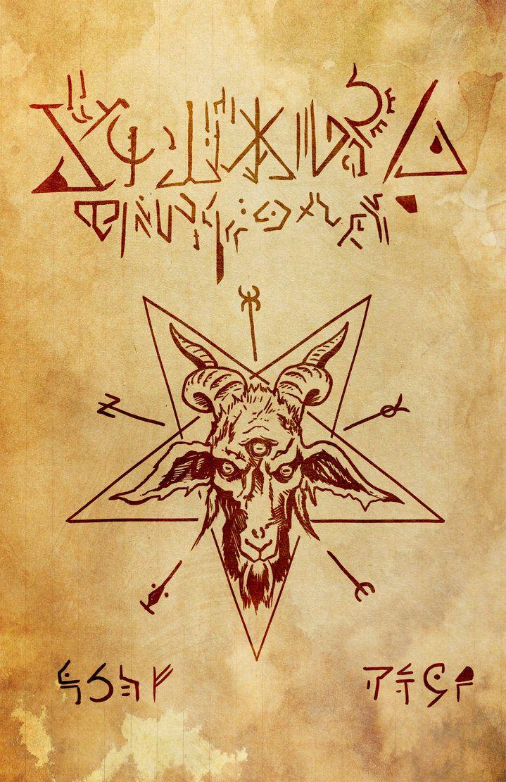 Necronomicon Page 00 Magick Book Evil Dead Book Spell Book