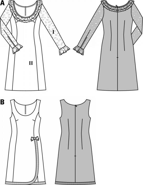 Burda 7044 | fashion | Pinterest | Dibujo de moda, Patrones de ...