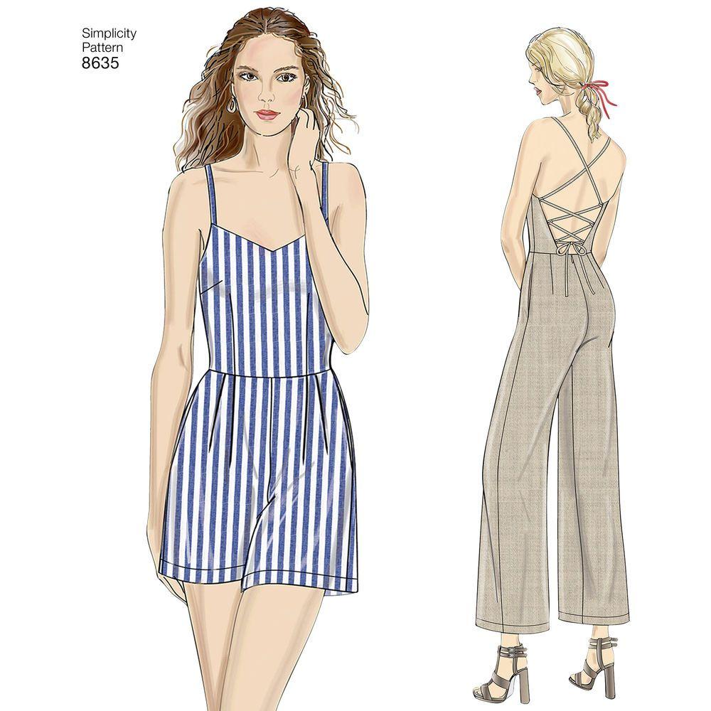 Simplicity Jumpsuit Pattern Best Design Ideas