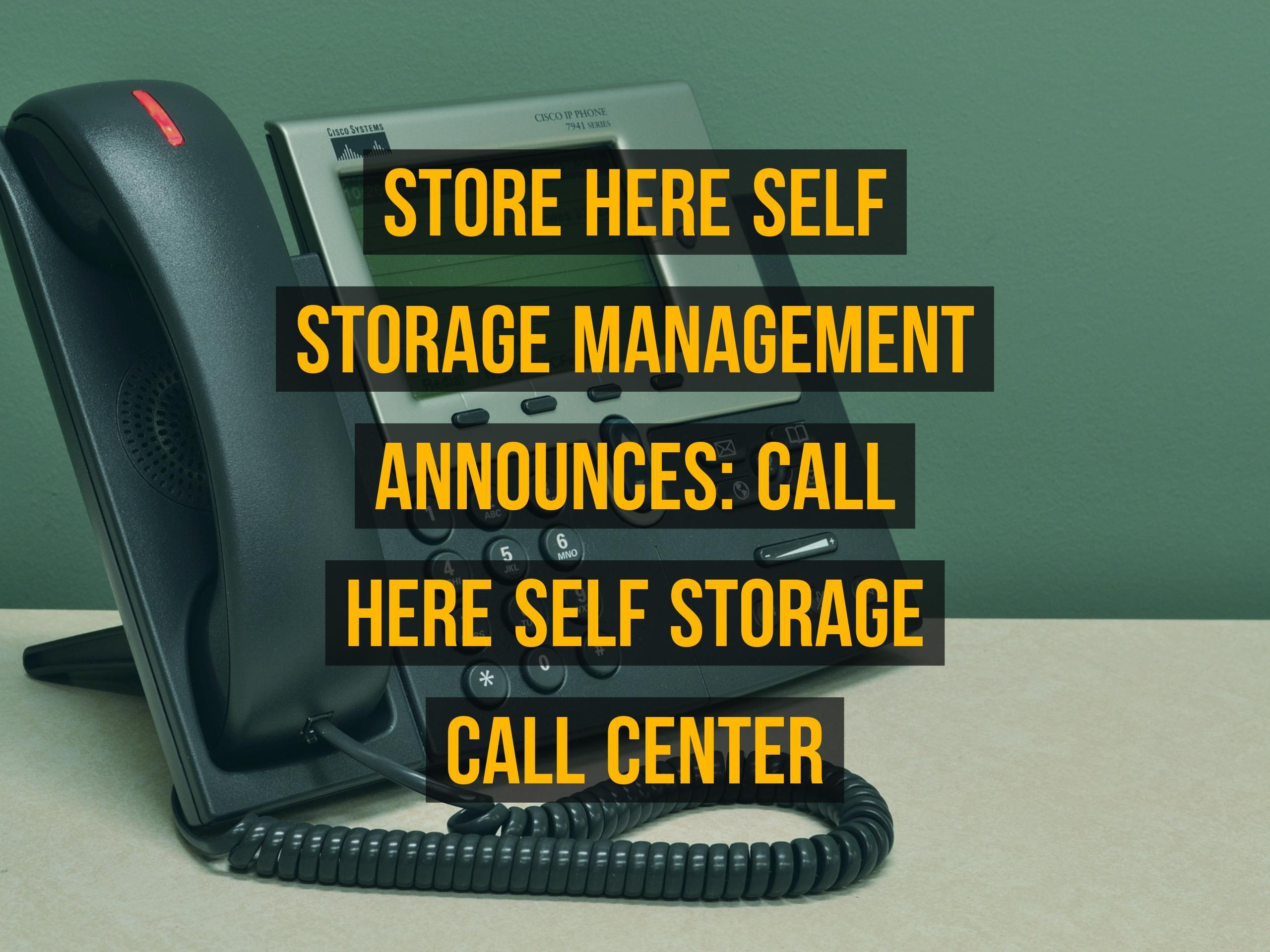 Http Goo Gl Dd4xiy Here Self Storage Management Announces