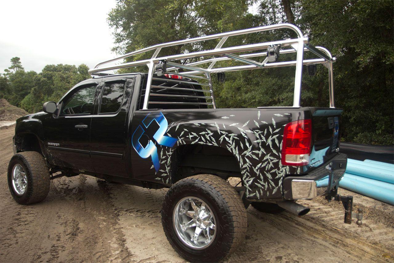 Aluminum Rackit rack trucks lifted diesel offroad