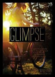 Glimpse, I started it today and I am glued! Hope and Liz are best friends and sisters, and everything changes when Liz pulls out a shotgun. She ends up in the hospital, and everything is madness. But the worst part, what happened to Liz that Hope knows? All written in poetic form, its a great book to read over summer vacation!