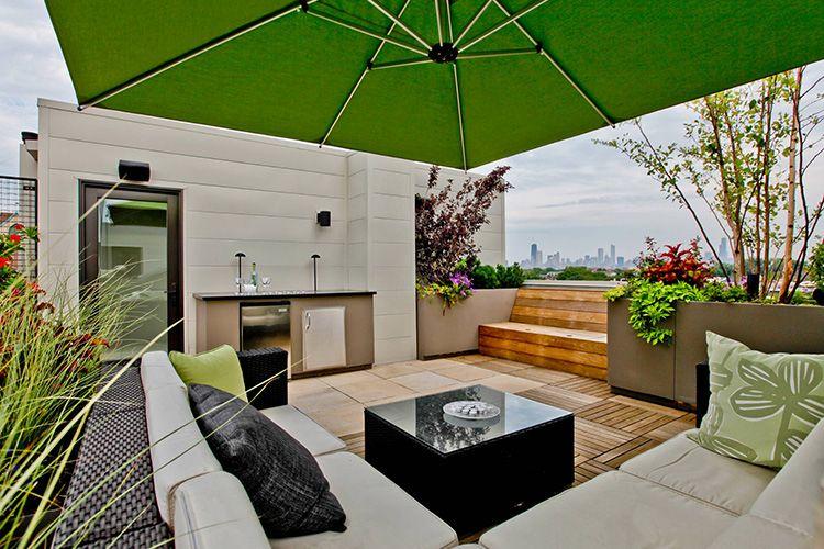 Modern Rooftop Innovative Ideas | Home Inspiration | Pinterest ...