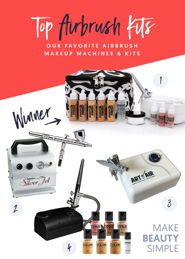 Best airbrush makeup reviews: kits & machines | luminess
