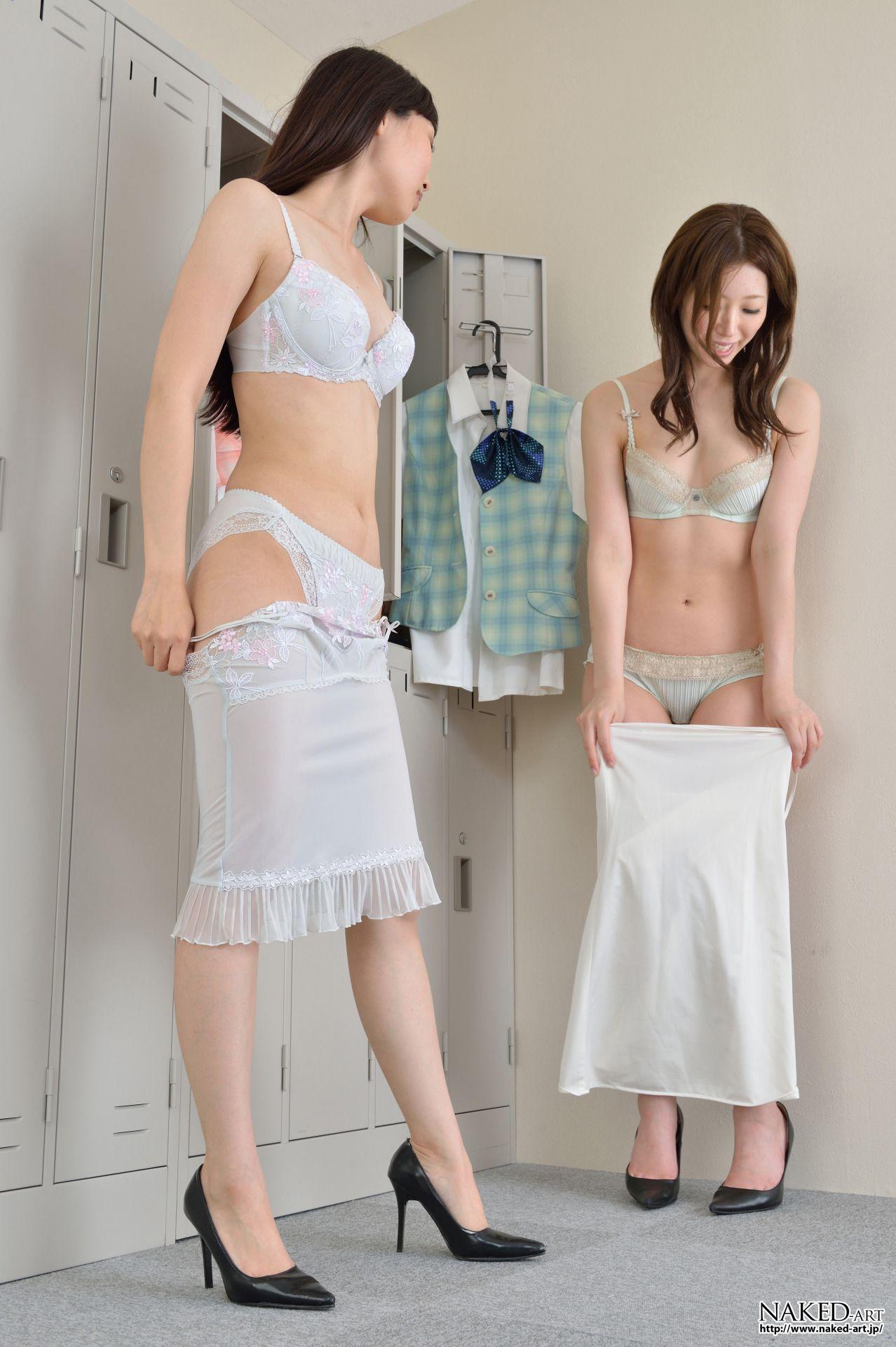 Japanese bikini changing
