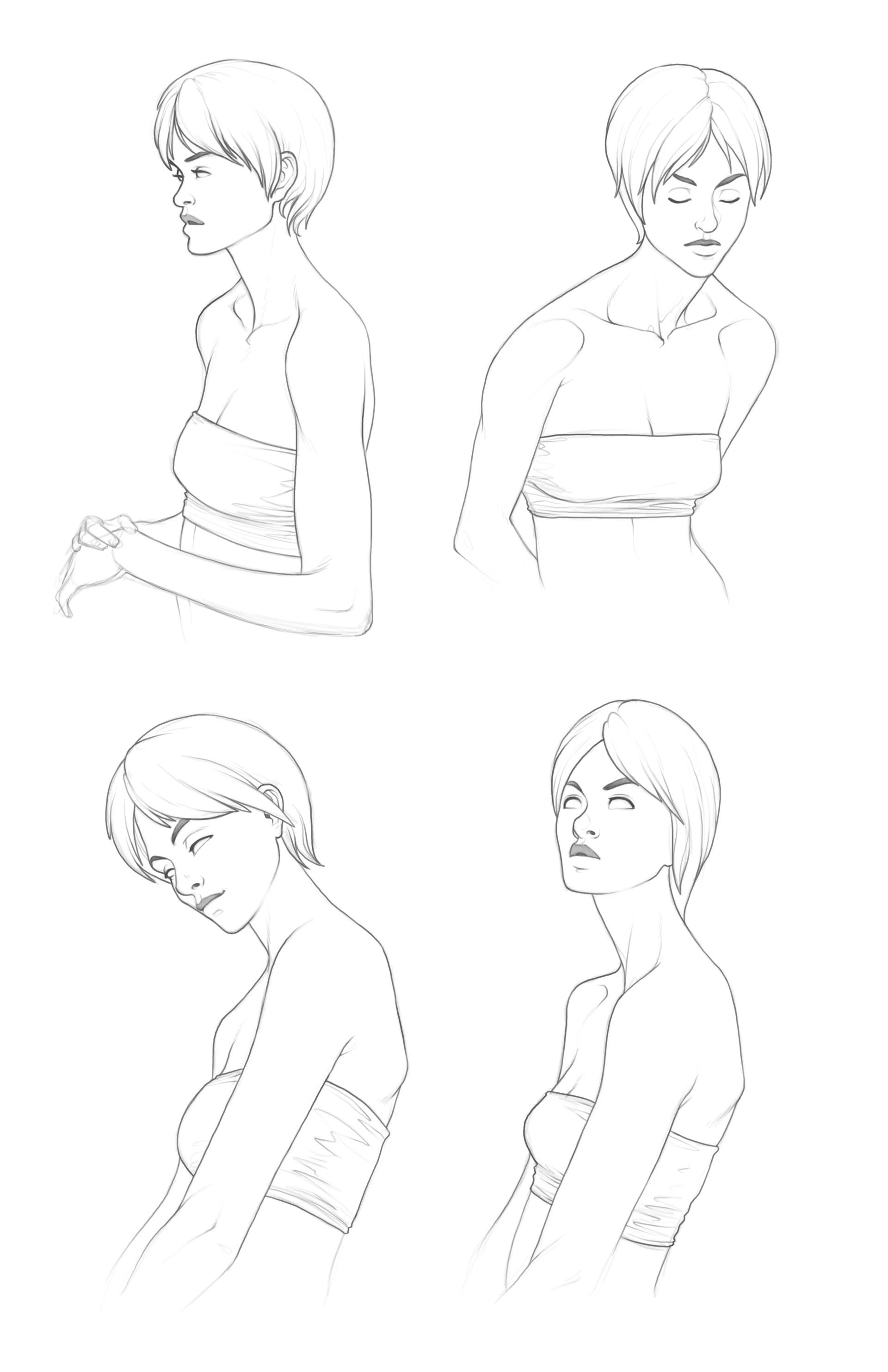 Artstation Head Shoulders Anthony Amorose Anime Poses Reference Art Reference Photos Drawing Reference