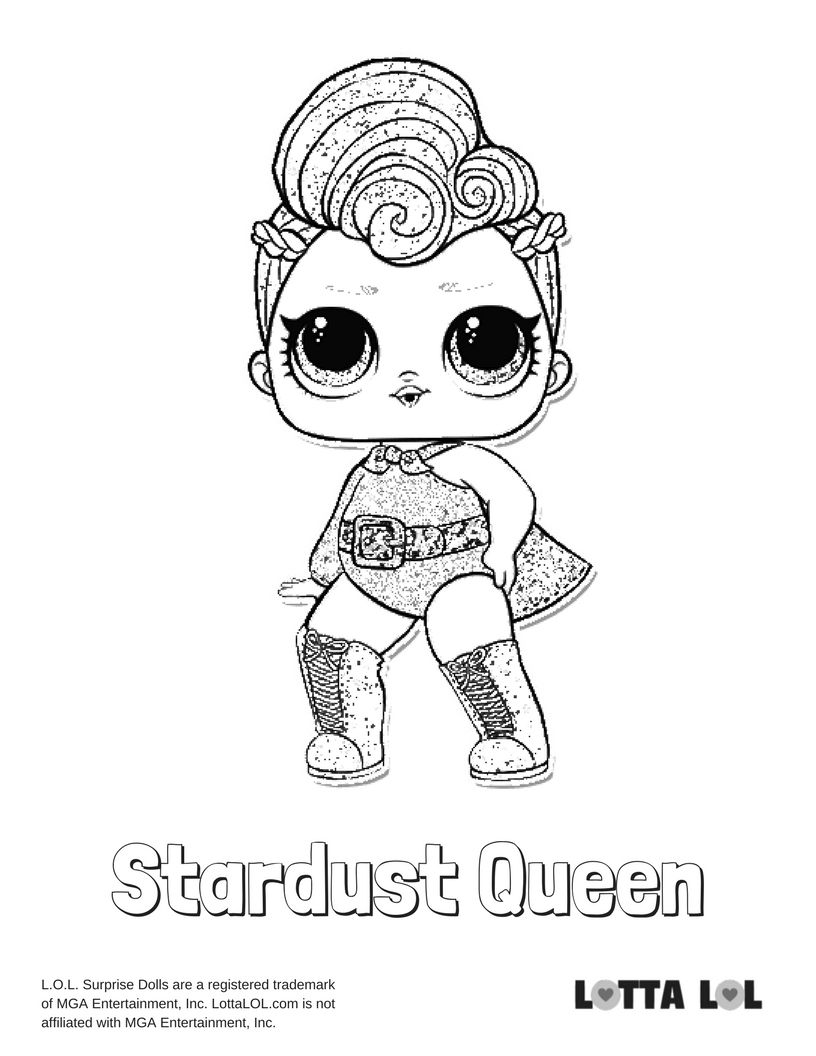 Stardust Queen Coloring Page Unicorn Coloring Pages Cute Coloring Pages Butterfly Coloring Page