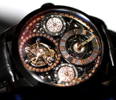 Tourbillon-based watch by Memorigin - Chinese