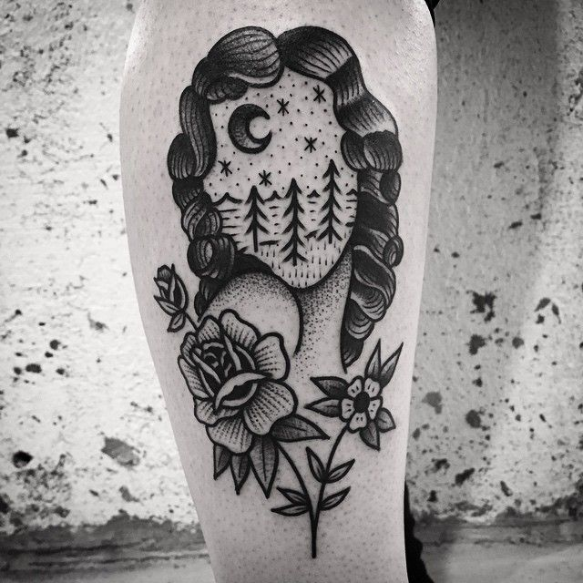 I Love The Face In 2020 Tattoos Body Art Tattoos Traditional Tattoo