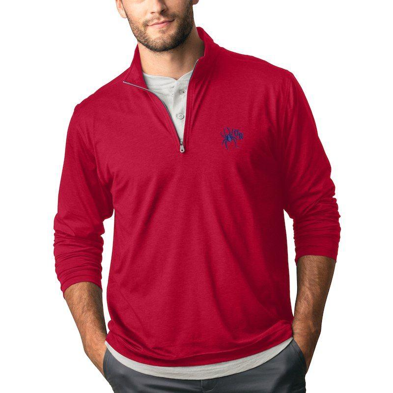 Antigua Men's Fortune Quarter zip Pullover