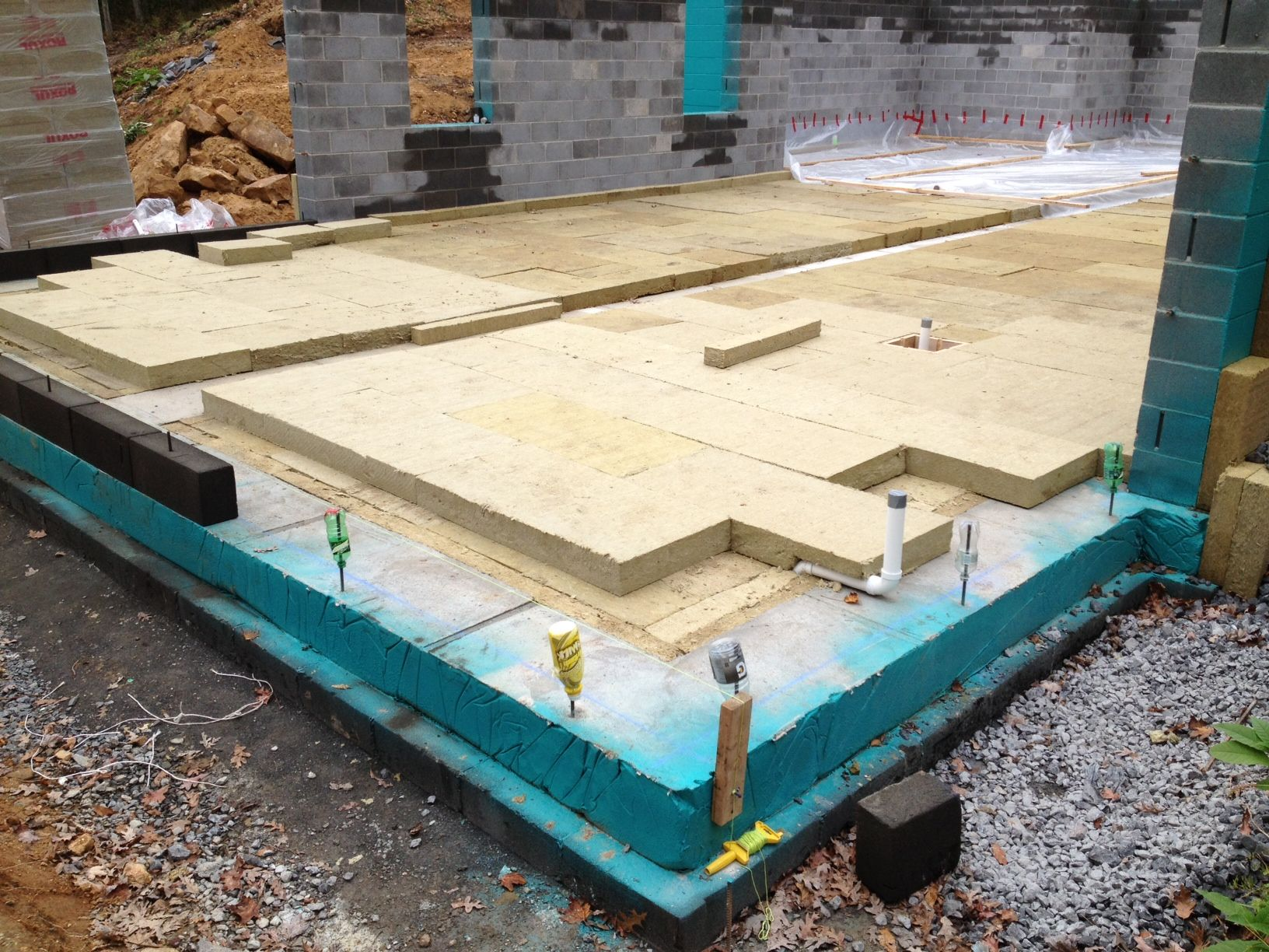 Net zero passive house maryland foam free mineral for Mineral insulation