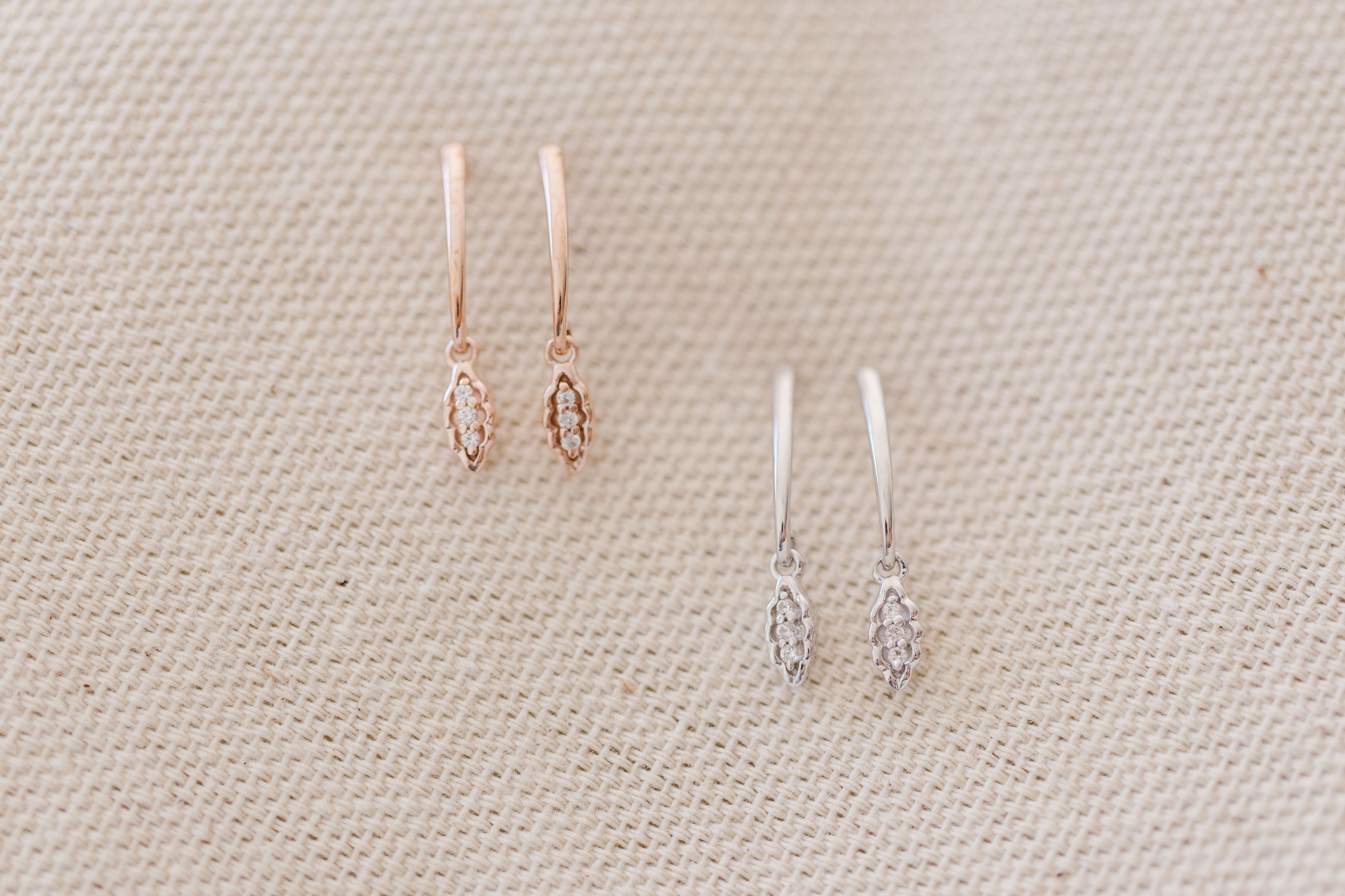 9220d098a LC Lauren Conrad Post Lab-Created White Sapphire Drop Earrings in ...
