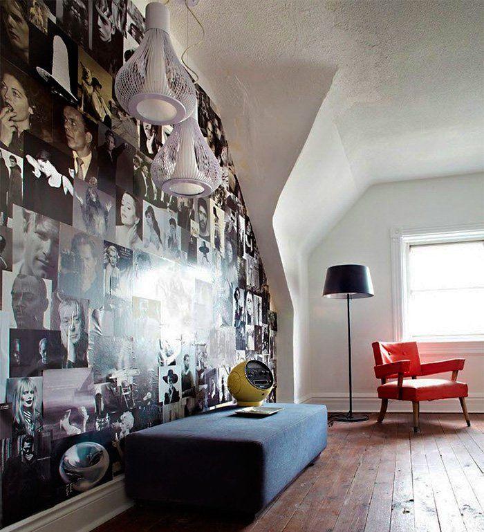 Dicas Vila do Artesão - Preenchendo paredes com revistas, gravuras e imagens