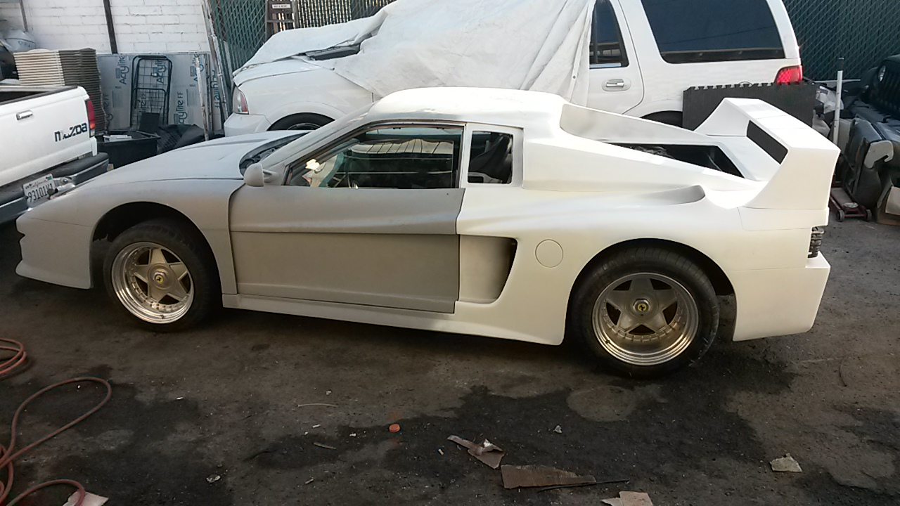 Unfinished 1985 Fiero Koenig Testarossa Replica | Replica cars for ...