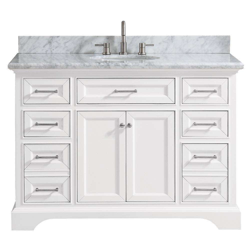 Home Decorators Collection Hamilton 61 In W X 22 In D Double Bath Vanity In Grey With Granite Vanity Top In Grey With White Sink 10806 Vs61h Gr The Home Dep In 2020