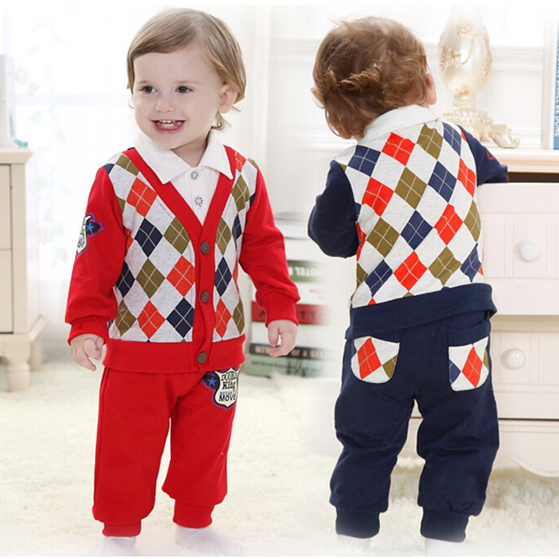 e5f1ba67a Click to Buy << Autumn Newborn Gentleman Style Baby Boys Outwear Kid  Toddlers. >>