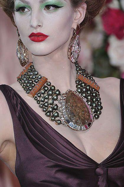 John Galliano jewelry Christian Dior Couture Jewelry Rockin