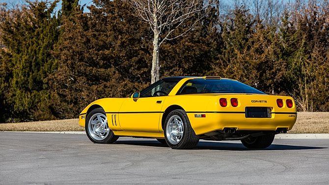 1990 Chevrolet Corvette Zr1 118 Miles Mecum Auctions Chevrolet Corvette Corvette Zr1 Yellow Corvette