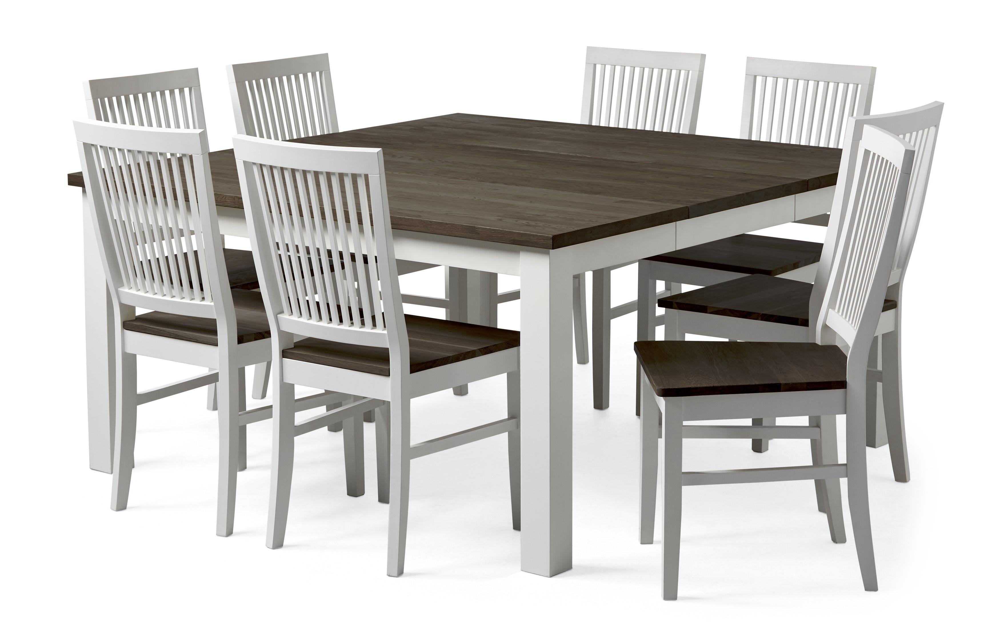 Toppen Dalarö matbord med 8 stolar Läckö från Mio. | Nyheter Våren 2017 QU-39