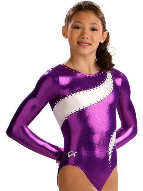 Wide Ribbon Comp Leotard from GK Elite! How old is Kyla here. she looks  like 12. maybe she is. i love it! 984020f2645