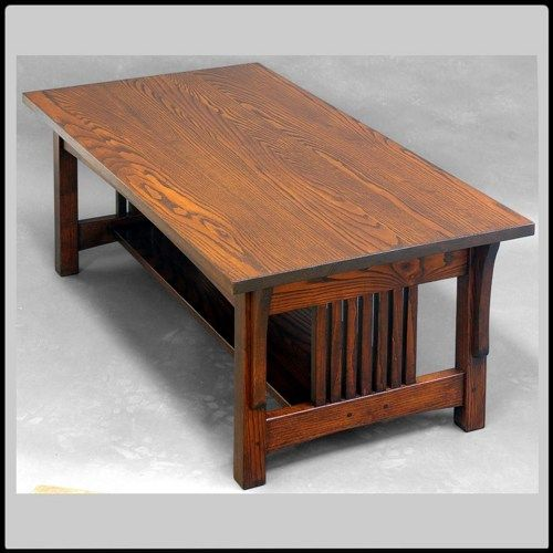 Mission Arts And Crafts Coffee Table Ash Coffee Table Arts