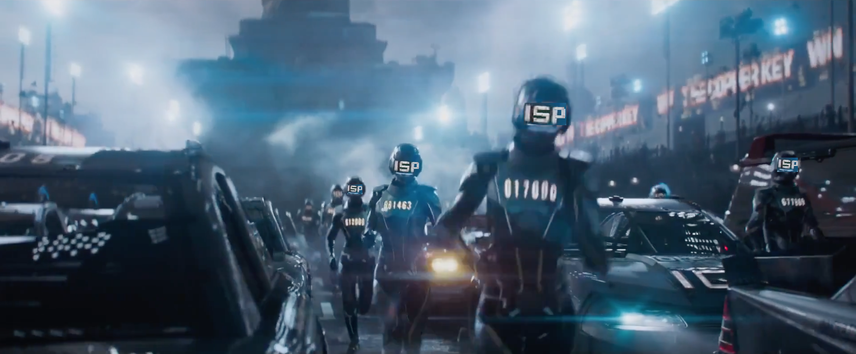 Insofar as Ready Player One parallels net neutrality, IOI