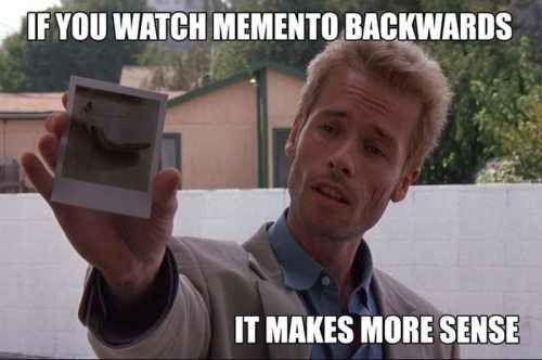 Memento | 19 Movies That Would Be Hilarious Backwards