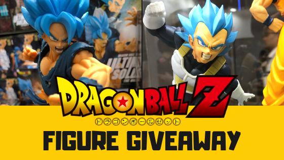 [Giveaway] Win NEW Dragon Ball Figures Goku vs Vegeta