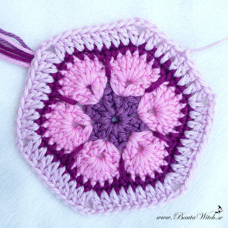 Cojin Mariposa en Crochet Tutorial - Patrones Crochet | Crochet That ...