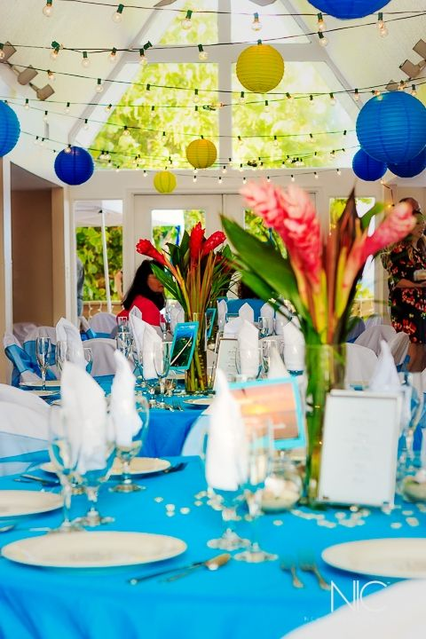 Beach Theme Wedding Pelican Clubhouse Satellite Fl