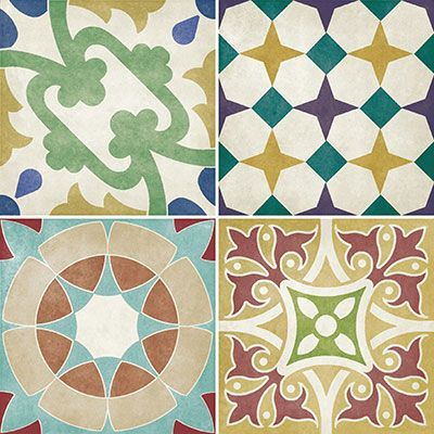 Decor Tiles Watford Beauteous Hoxton Coloured Decor Tiles  142X142Mm  New House  Pinterest Inspiration
