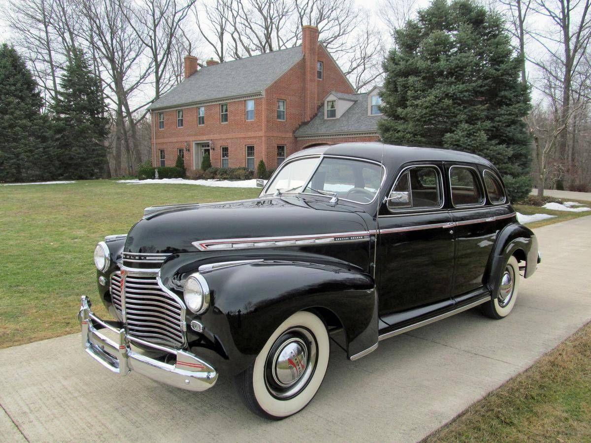 1941 chevrolet special deluxe 4 door sport sedan old
