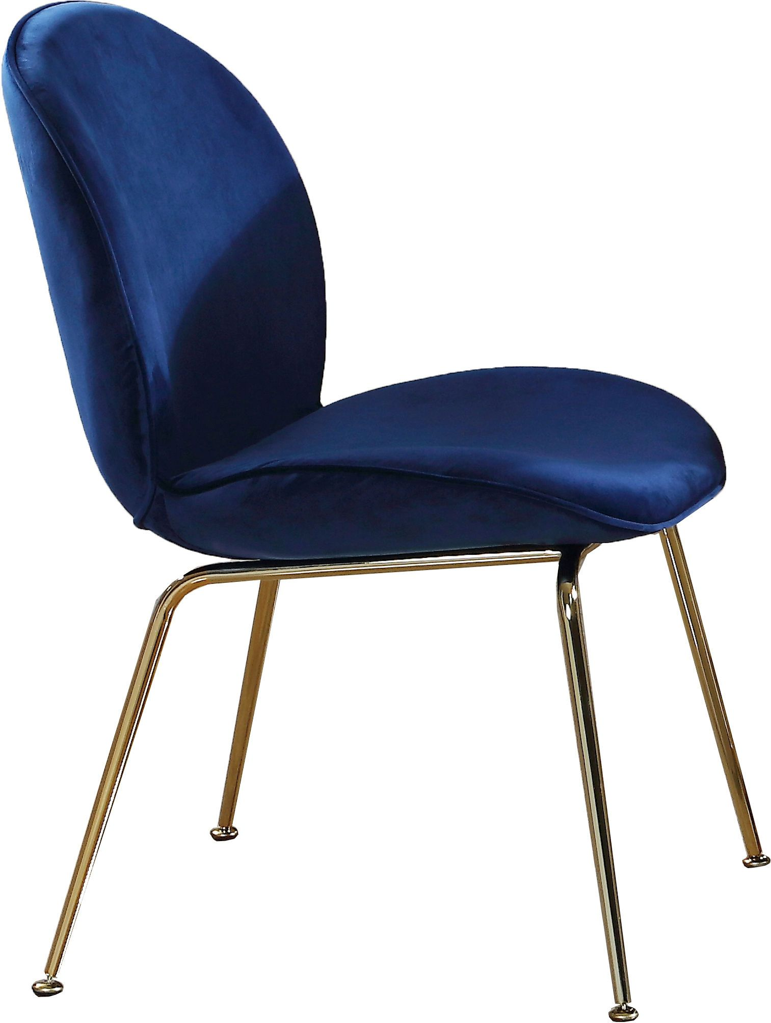 2 X Paris Blue Dining Chair In 2020 Blue Velvet Dining Chairs
