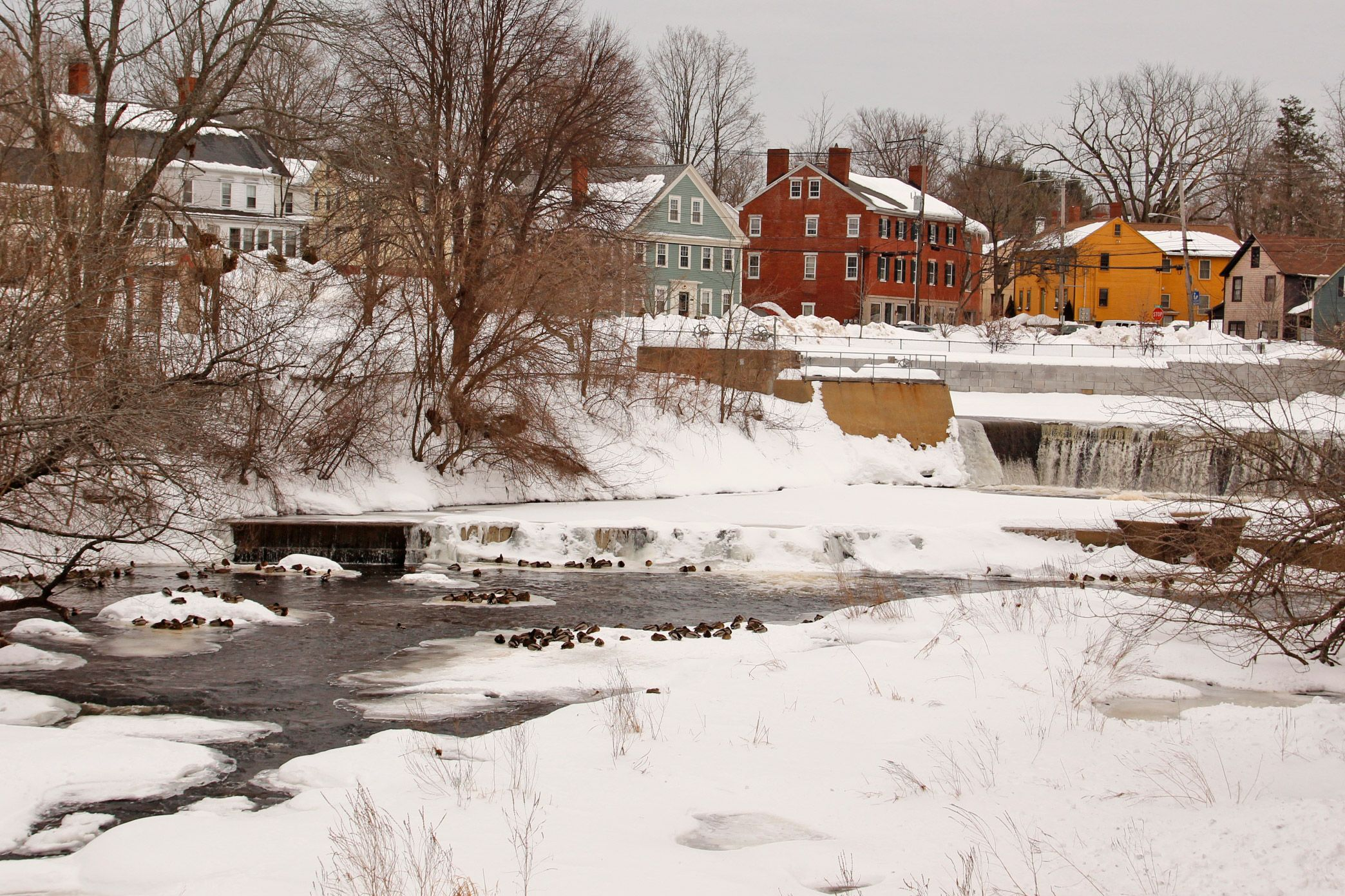 Walking Tour Of Exeter New Hampshire Then And Now Exeter New Hampshire New Hampshire Exeter