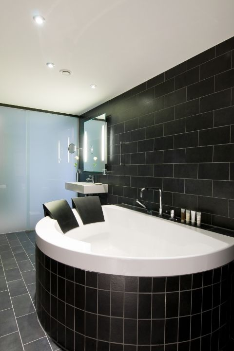 perfect tub for two! try it at scandic's palace hotel in copenhagen