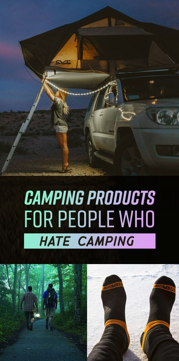 Photo of 17 Products For People Who Hate Camping