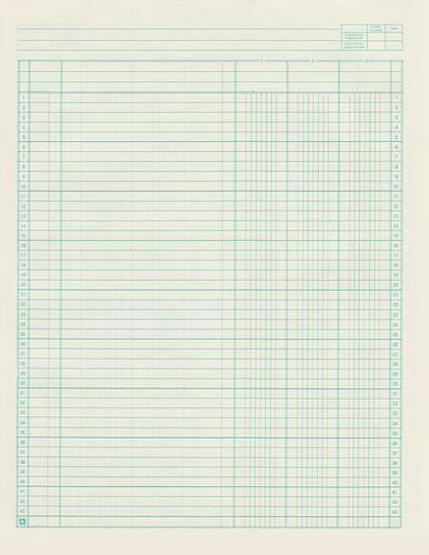 image about Printable Ledger Sheet called Loads and loads of papers and ledgers printables Lovely Hairy