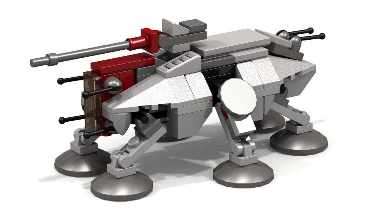 Lego Star Wars At Te Micro Instructions Star Wars Pinterest