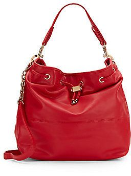 Ally Faux Leather Hobo Bag